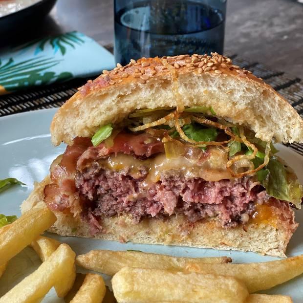 Ultimate home made burger de Julie