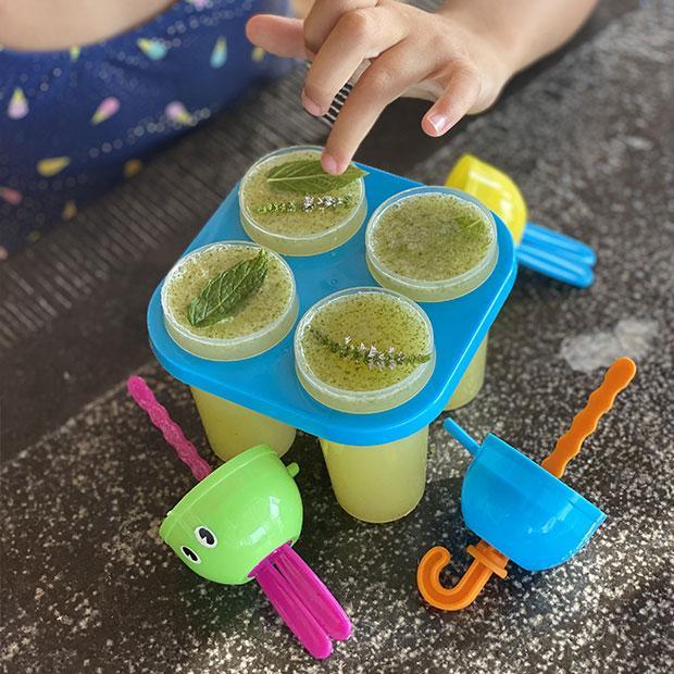 Esquimaux menthe, miel et citron vert