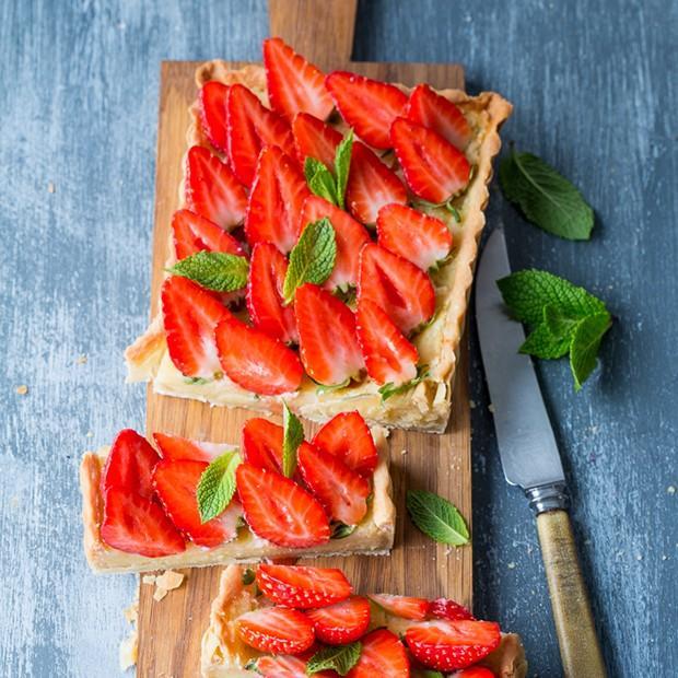 Tarte aux fraises de Julie