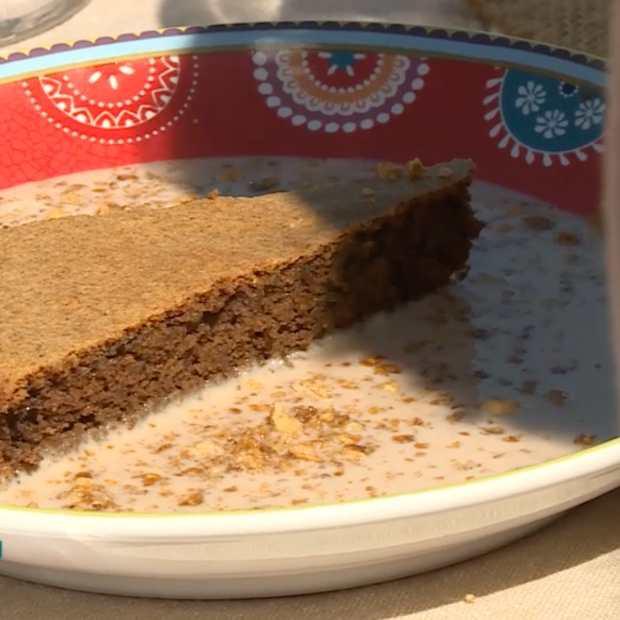 Gâteau moelleux à la farine de noix de Séverine