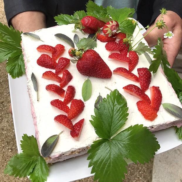Mousseux aux fraises de Gérard