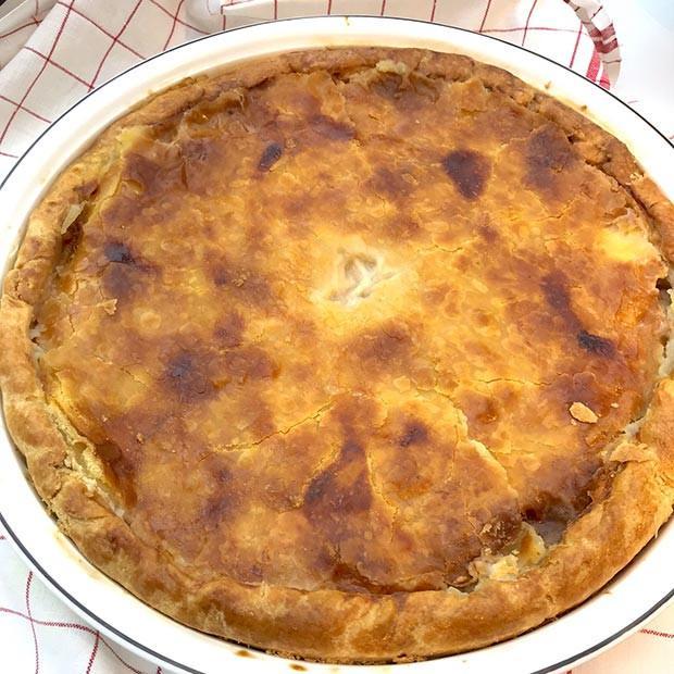Pâté bourbonnais aux poires et aux coings de Françoise