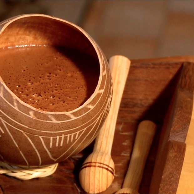 Chocolat chaud des Mayas de Valentine