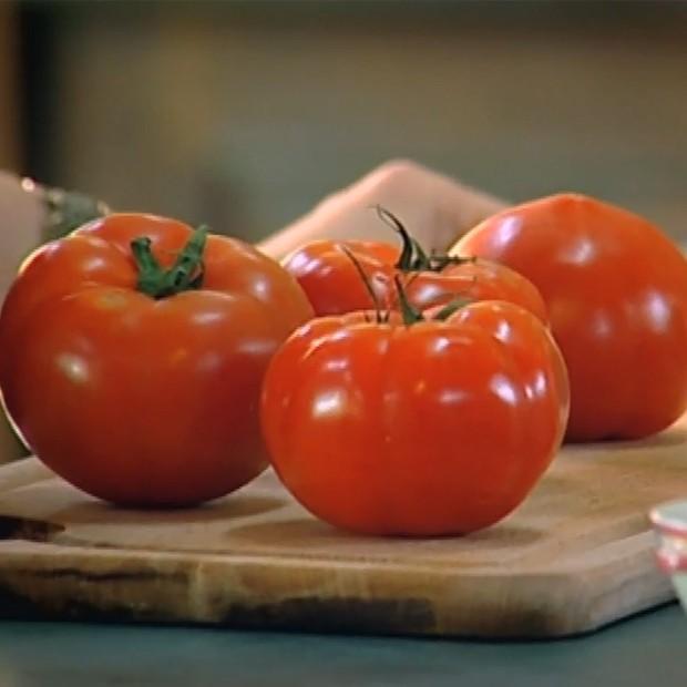 La bonne salade de tomates