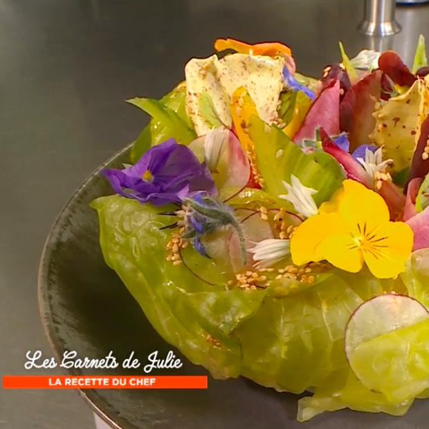 La salade Plein Champ de Thierry Marx