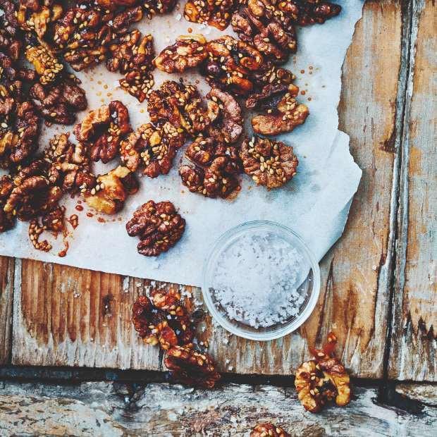 Mes noix salées etcaramélisées