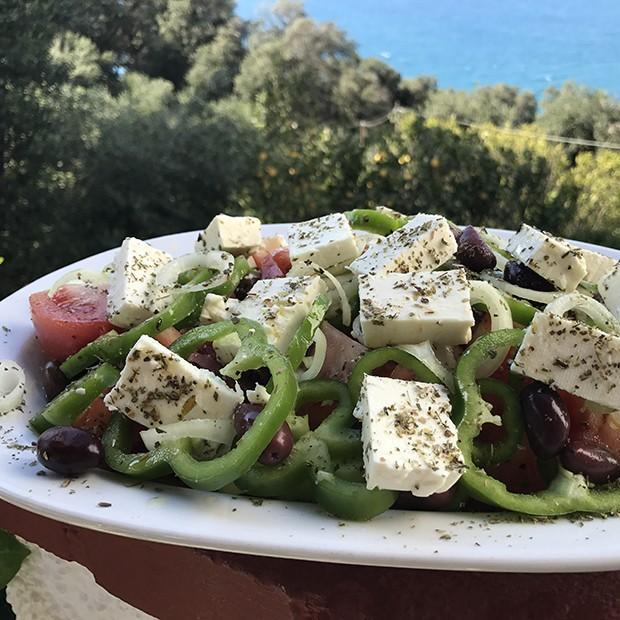 Salade grecque de Sofia