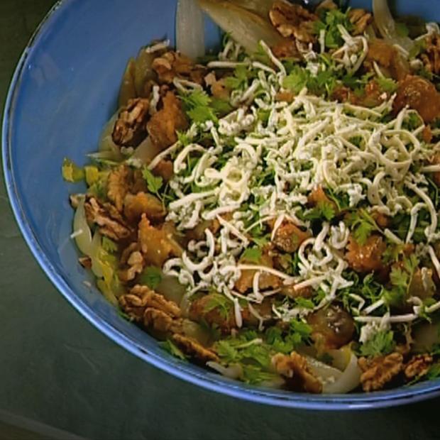 Salade ravioles croquantes