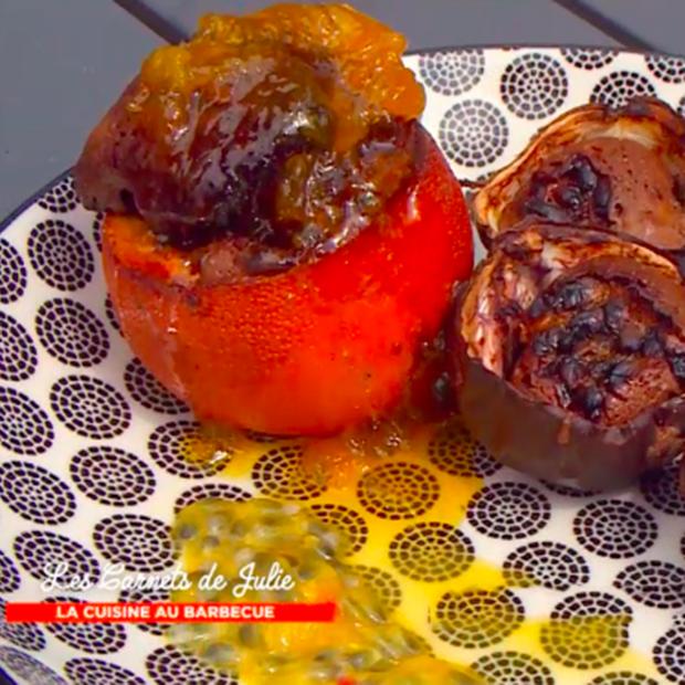 Gâteau au chocolat dans l'orange de Raphaël Guillot