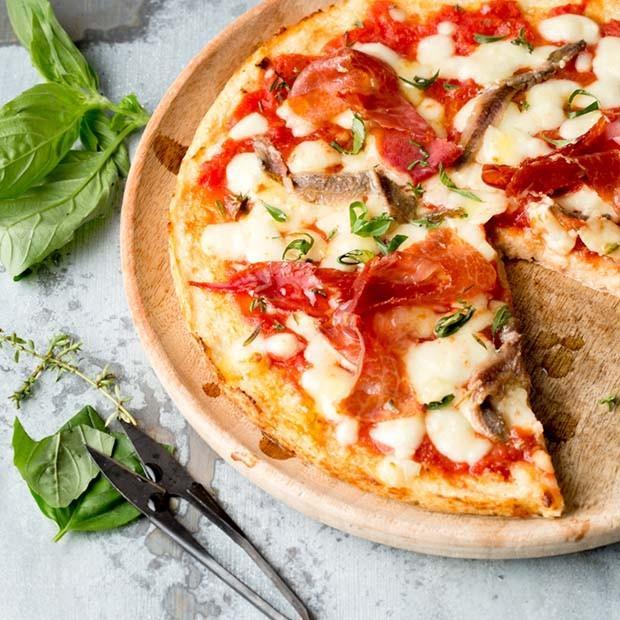 Ma pizza au chou-fleur