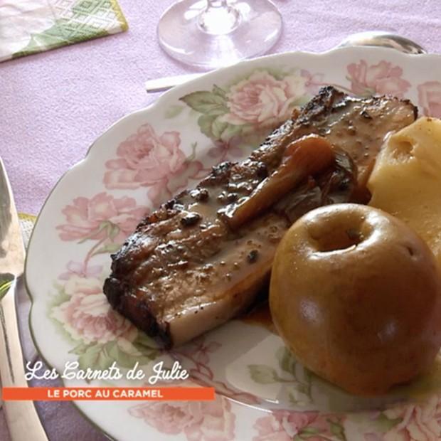Porc au caramel revisité de Bertrand