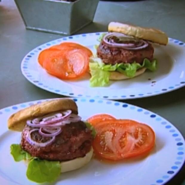 Burger aux betteraves