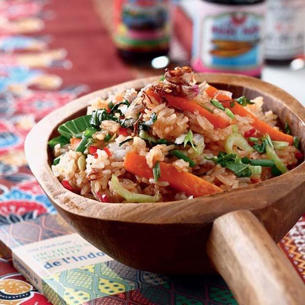 Nasi Goreng ou Riz sauté aux légumes
