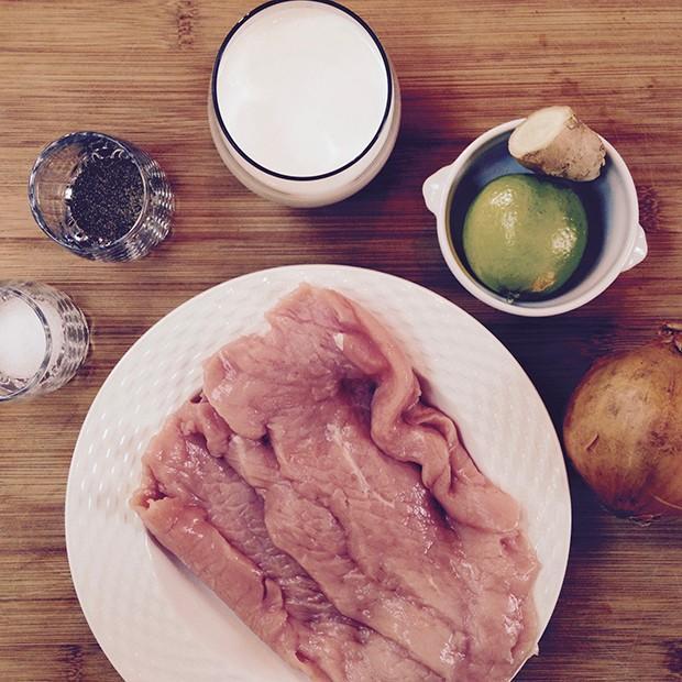 Sauté de veau au gingembre