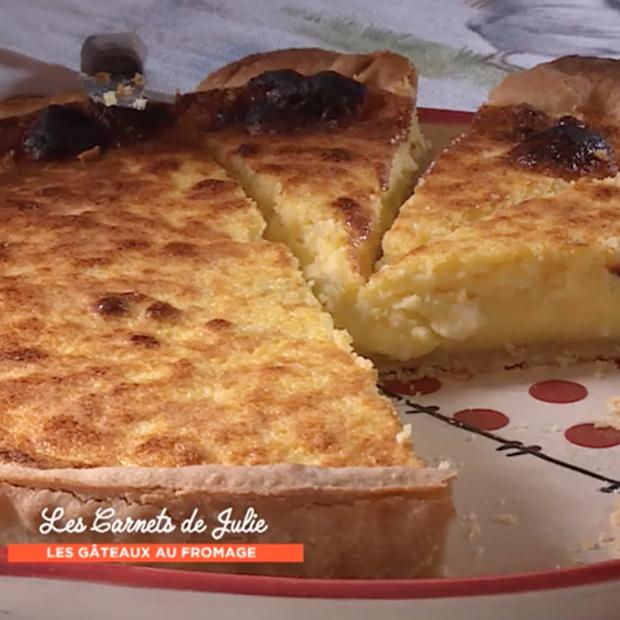 Tarte au fromage blanc « Kaeskueche » de Véronique