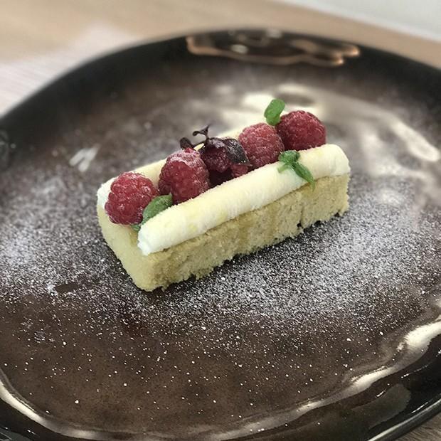 Gâteau Chiffon à l'huile d'olive de Thierry Marx