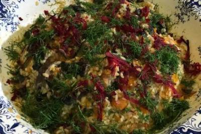 Risotto aux légumes de Cyrille Zola-Place