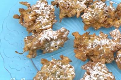 Les beignets de fleurs de glycines de Camille Oger