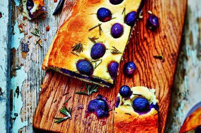 Galette aux raisins