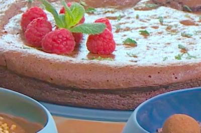 Mi-cuit « bonne-maman » au chocolat de Victoire