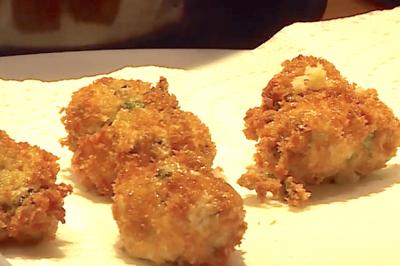 Beignets d'huîtres de Christine et Nathalie