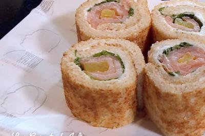 Bread-Maki cru au saumon de Thierry Marx