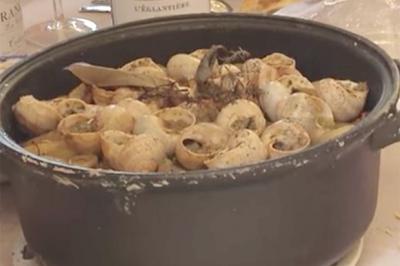 Croquignoles d'escargots de Rosa et Alain
