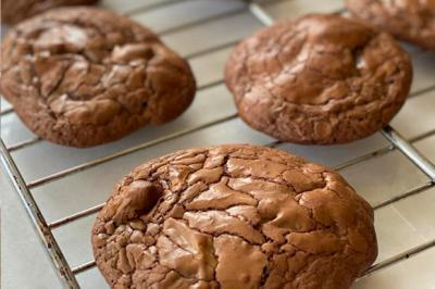 Macarons sans amande ultra chocolat