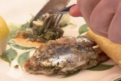 Sardines farcies de Suzoni