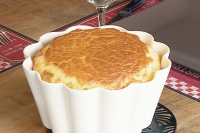 Soufflé au jambon et au fromage d'Anne-Gaële