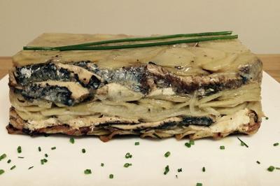 Terrine de sardines aux pommes vertes