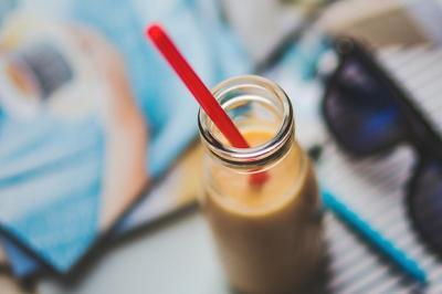 Frozen yogurt mangue-coco