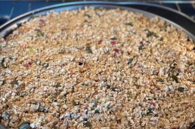 Granola inspiré de mon amie Amandine