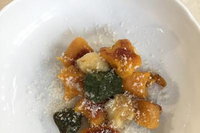 Gnocchis aux légumes de Julie