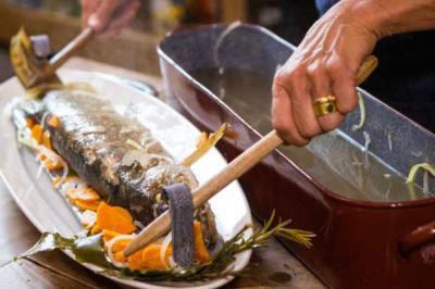 Le brochet sauce Mousseline de Sido par Noémie