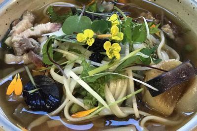 Légumes sautés et en bouillon de Frédéric