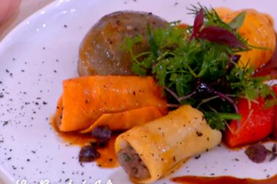 Petits légumes farcis aux herbes potagères de Thierry Marx