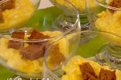 Soufflé chocolat orange au micro-ondes d'Anne