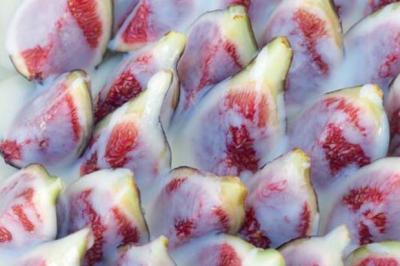 Tarte feuilletée aux figues