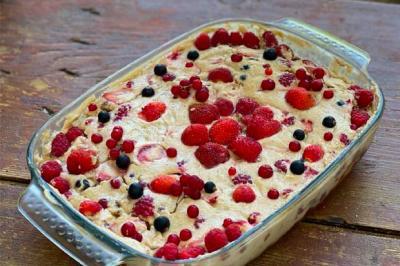 Tiramisu de pain d'épices aux fruits rouges d'Elise et Luna