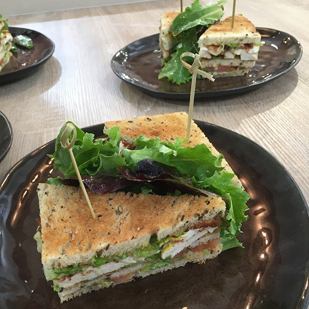 Club Sandwich traditionnel de Julie